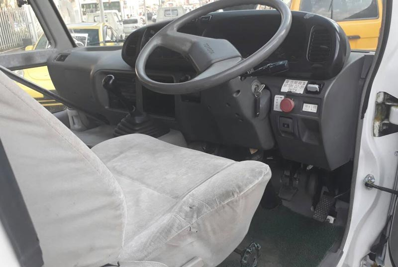 2003 Toyota / Coaster Stock No. 1001